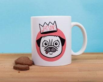 "My Pug mug ""Watson"