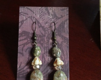 Autumn Jasper Earrings
