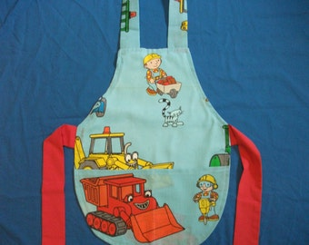 Small Child's Bob the Builder Apron