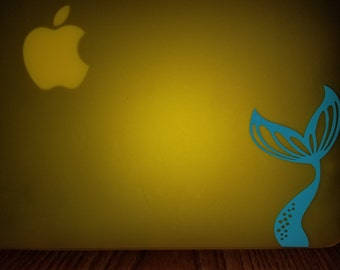 Mermaid tail decal. Available in any color of your choosing!