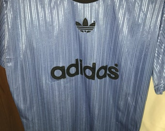 Adidas t shirt mens large 80s
