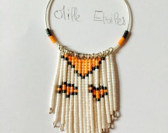 Coloured necklace
