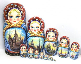 "Matryoshka ""St. Petersburg"" 15 seats"