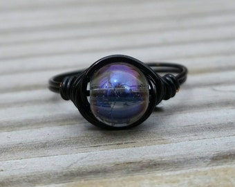 Thunderstorm Wire Ring