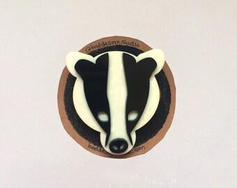 Bad Badger Badge