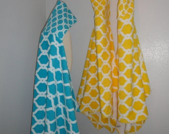 Toddle and Child Size Hooded Towel