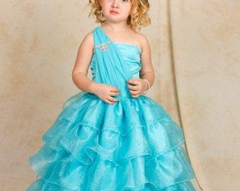 Alana Dress ~Ballgown~Pageant Dress~Handmade~Photo-shoot~Costume