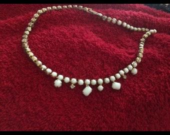Vintage choker necklace