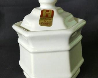 Vintage Royal Haegar Small Canister