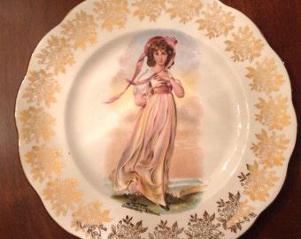 Royal Albert pinky plate