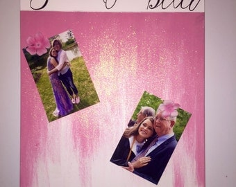 Custom Personalized Magnetic Photo Board