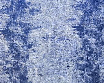 Drapery/Upholstery Jacquard Fabric Percy 565 Midnight By The Yard