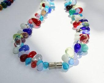 Necklace, Mali wedding beads, Fulani Bohemia of trade beads, drop beads, necklace, necklace, necklace