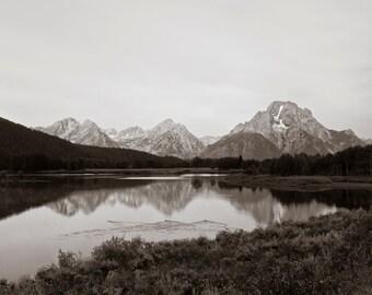 Yellowstone Reflections - Mt. Moran
