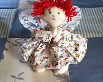 Malia Handmade Cloth Angel Doll