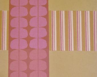Limited Edition Print    Modern Artwork   Original Print   Abstract Print   Silkscreen Print  Fine Art Print  Contemporary Print  Pink Print