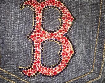 Rhinestoned Jeans