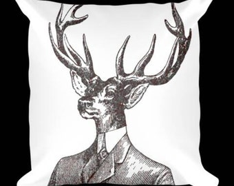 Dapper Deer Pillow