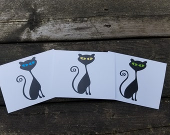 Cat Stationery Notecards
