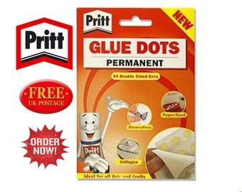Pritt Glue Dots Permanent 12mm - new - 64 pack