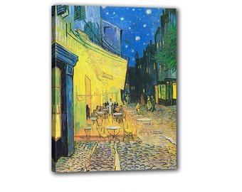 Vincent Van Gogh Reproduction Art Terrass Van Gogh Painting Repro Oil Art Wall Art Home Wall Decor Van Gogh Design Oil Reproduction Painting