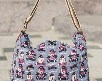 colored woman hand bag