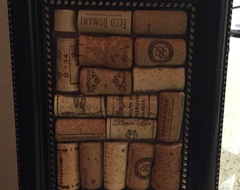 Cork Art Framed / Fun Cork Board