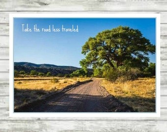 Road less Traveled Printable