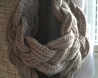 Double layer Cowl/Oatmeal