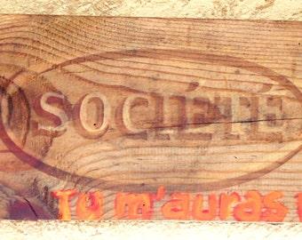 Wooden decorative Board