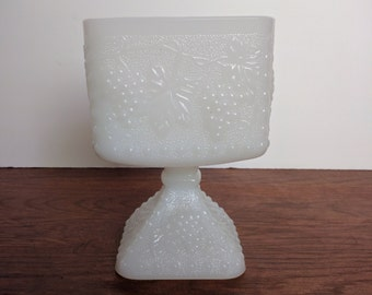 Milk glass vases & compotes- instant collection