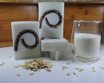 Goat Milk and Oatmeal Soap