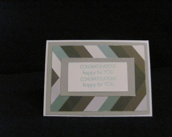 Happy For You Congratulations Card
