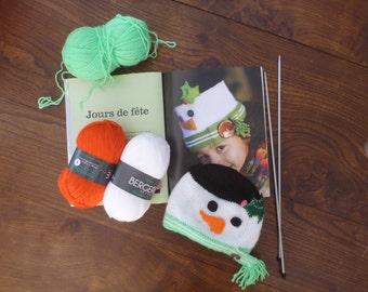 Funny snowman Hat