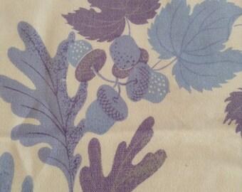 Vintage white cotton tablecloth