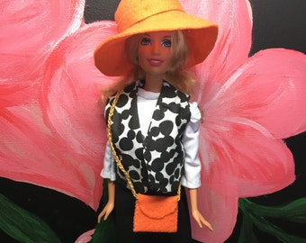 Barbie Hat and Purse