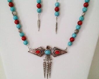 Metal Bird Pendant