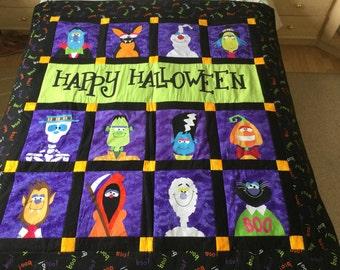 Happy Halloween quilt