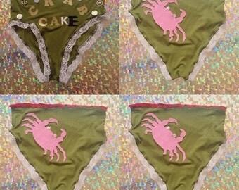 Crab Cake Granny Panties