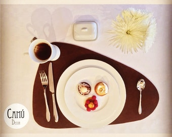 Authentic Leather Placemat