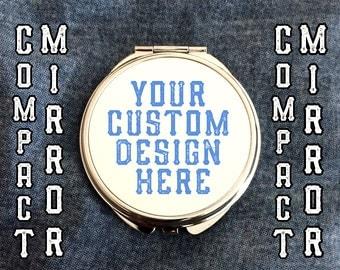 Custom Compact Mirror - Full Colour
