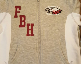 Custom Child's Hoodie-Football