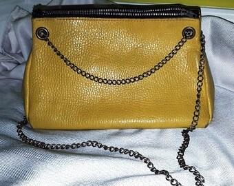 Vintage Purse - Yellow