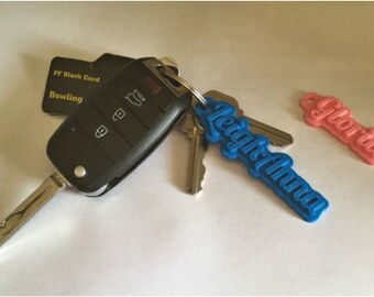 Personalized 3D Keychain