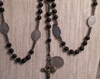 Servit rosary chaplet of the seven sorrows mater dolorosa
