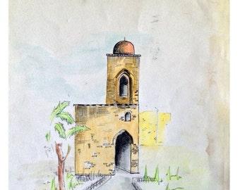Antique temple in sicily