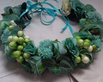 Flower Crown Turquoise