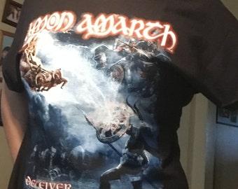 Amon Amarth drop Shoulder women's T-shirt.
