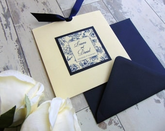 FRANCESCA wedding invitation and RSVP *SAMPLE*