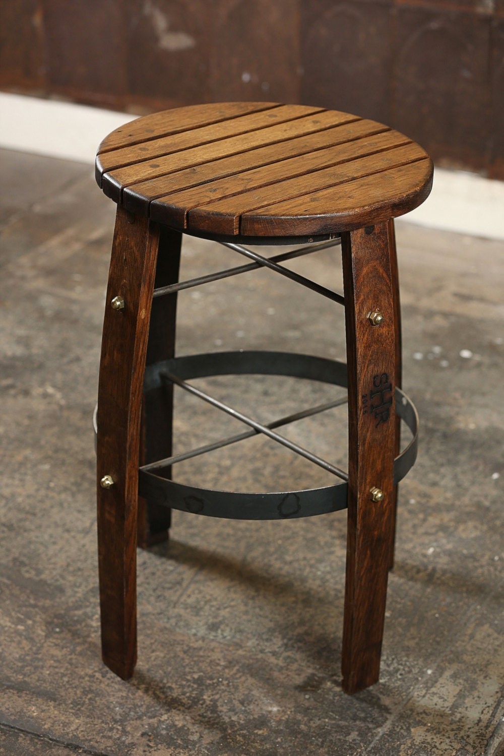 Whiskey Barrel Bar Stool by SouthernHeritageLLC on Etsy : ilfullxfull1086011205c1ux from www.etsy.com size 1000 x 1500 jpeg 272kB